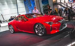 how much will lexus lc 500 cost 2016 detroit lexus steals the show to reveal the lc500 in full