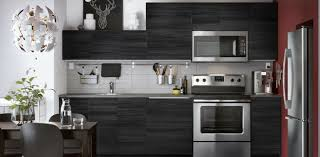 ikea kitchen cabinets microwave ikea tingsryd cabinet door 15x15 wood effect black 402 668 37 new