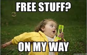 Meme Free - free stuff on my way v girl meme generator