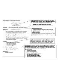 Resume Work Experience Examples For Students by Resume Template For High Student Free Download