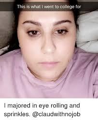 Rolls Eyes Meme - 25 best memes about eye rolling eye rolling memes