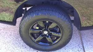nissan armada with black rims 2010 nissan titan black powder coated oem 18