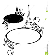 eiffel tower design stock vector image 42710965