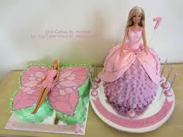 mariposa barbie cake u0026 princess doll cake