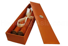 Scroll Invitations Silk Box With Teak Wood Wedding Scroll For Asian U0026 Oriental