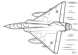 mirage 2000 coloring page free printable coloring pages