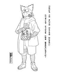 naruto coloring pages u2013 characters free coloring pages