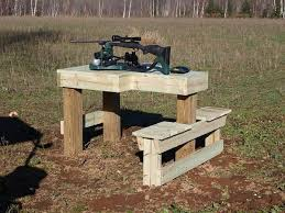 Portable Shooting Bench Building Plans I Built One Of These Http Renovation Headquarters Com Plans