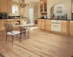 Kitchens With Light Maple Cabinets Decorating Appealing Kitchen Design With Pretty Mullican Flooring