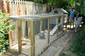 construction of small scale poultry house with inside the chicken