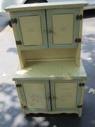 Antique Kitchen Hutch Cupboard Chippy White Cupboard More And More Shabby Chic Frippery