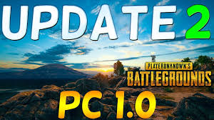 pubg 1 0 patch notes playerunknown s battlegrounds pc 1 0 update 2 patch notes