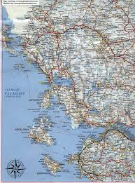 Santorini Greece Map by Map Of Greece