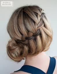tutorial rambut waterfall 21 quick easy diy hairstyles tutorials for medium long hair
