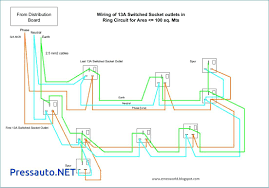 electrical wiring residential diagrams outlet to switch light