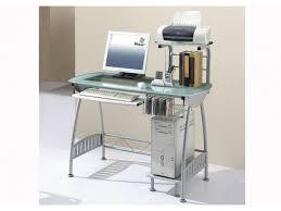 bureau informatique verre trempé bureau informatique polaris verre trempé mdf