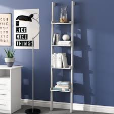 leaning bookcases wayfair co uk