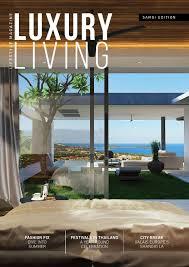 luxury living magazine issue 5 2015 by luxury living magazine