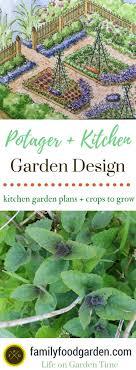 Potager Garden Layout Potager Kitchen Garden Design Plans Family Food Garden