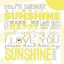 sunshine invitation you are my sunshine free printable via between u u0026 me