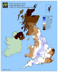 rainfall totals map uk rainfall the last eight days official of the met
