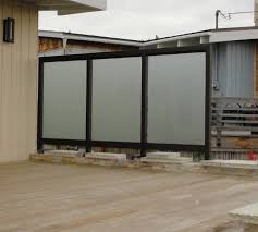 Patio Wind Screens by Patio Screens