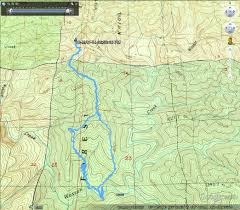 Map Of Where I Am Right Now Oregon Hikers U2022 View Topic The Devil U0027s Staircase
