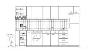Autocad For Kitchen Design Kitchen Design Autocad Zhis Me