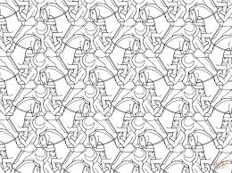 tessellation coloring pages image result for tessellations to
