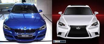 lexus isf motor photo comparison f30 bmw 3 series m sport vs 2014 lexus is f sport