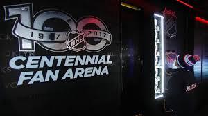 nhl centennial fan arena sabres to host nhl centennial fan arena june 2 3