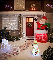 Christmas Yard Decorations You Can Make by Exterior Cool Outdoor Christmas Decorations Ideas Personalized