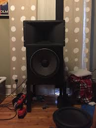 jbl home theater speakers fiddling with jbl 2226 and ev dh1a on a ev hp940 horn avs forum