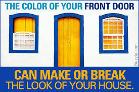 tips on how to choose the perfect front door color for your house