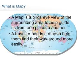 what is a map basics of map reading