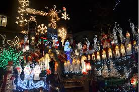 christmas displays put dyker heights on tourist map brooklyn