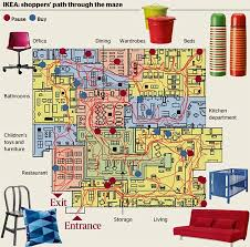 Department Store Floor Plan Ikea Design Stores U0027as Mazes U0027 To Stop Shoppers Leaving So You End