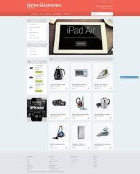 website template 51786 home electronic store custom design online