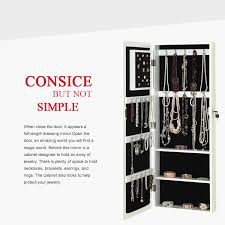 Wall Mirror Jewelry Storage Wall Mounted Dressing Mirror Jewelry Storage Armoire Buy Wall