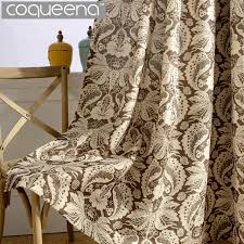 Bohemian Drapes Aliexpress Com Buy Cotton Polyester Luxury Floral Curtains For