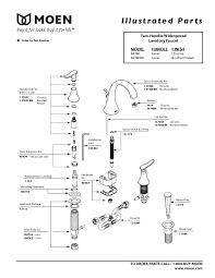 moen kitchen faucet parts moen kitchen faucet parts diagram 28 images moen faucet parts