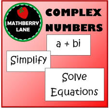 complex numbers practice imaginary numbers by mathberry lane tpt