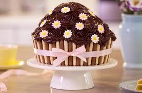 Wilton Cake Decorating Ideas Cupcake Marvelous How To Make Oversized Cupcakes Giant Cupcake