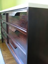 how to wood veneer furniture nursery progress how to refinish a veneer dresser