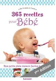 livre cuisine bébé 365 recettes pour bébé le livre de cubes et petits pois 365