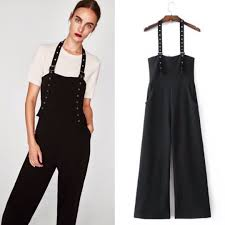 zara jumpsuit inspire zara jumpsuit with ribbon and buckle s fashion