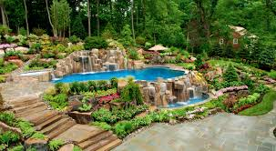 patio gorgeous ideas for decorating backyard pools most awesome