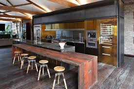 eat in kitchen furniture 59 cool industrial kitchen designs that inspire digsdigs