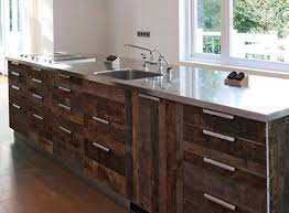 Recycled Kitchen Cabinets Reclaimed Wood Kitchen Cabinet Recycled Diy Pertaining To Cabinets