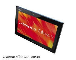 fujitsu logo fujitsu arrows tab qh55 presented waterproof 10 1 inch tablet